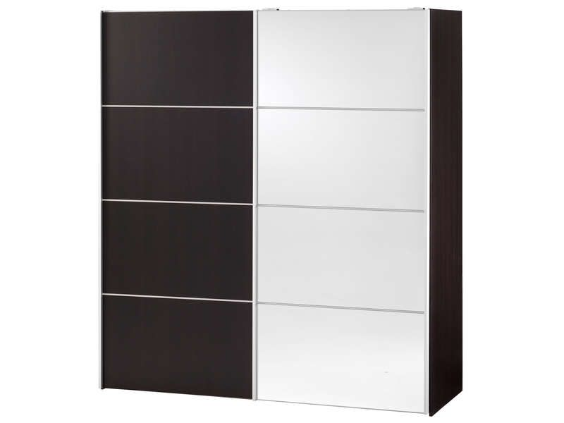 armoire 2 portes coulissantes verona coloris conforama. Black Bedroom Furniture Sets. Home Design Ideas