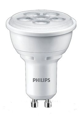 ampoule led philips spot gu10 4 5w 50w philips pickture. Black Bedroom Furniture Sets. Home Design Ideas