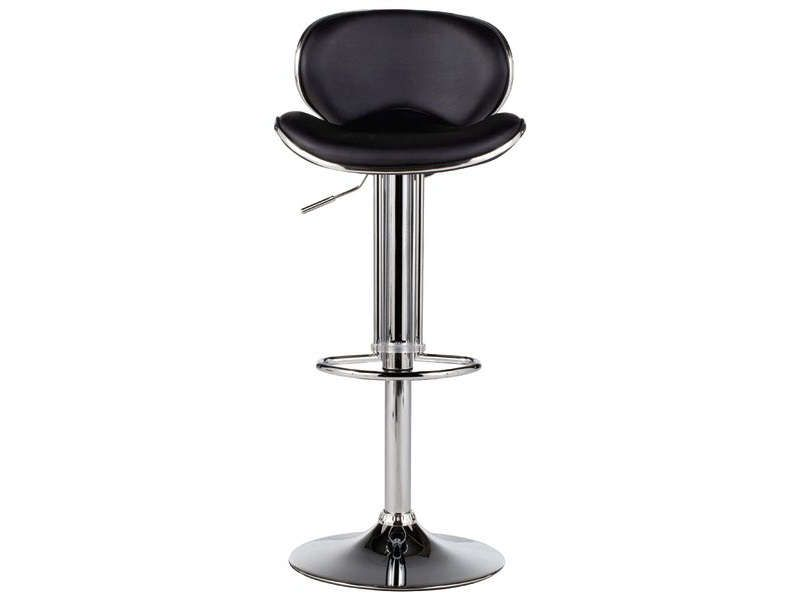tabouret de bar shoko coloris noir conforama pickture. Black Bedroom Furniture Sets. Home Design Ideas