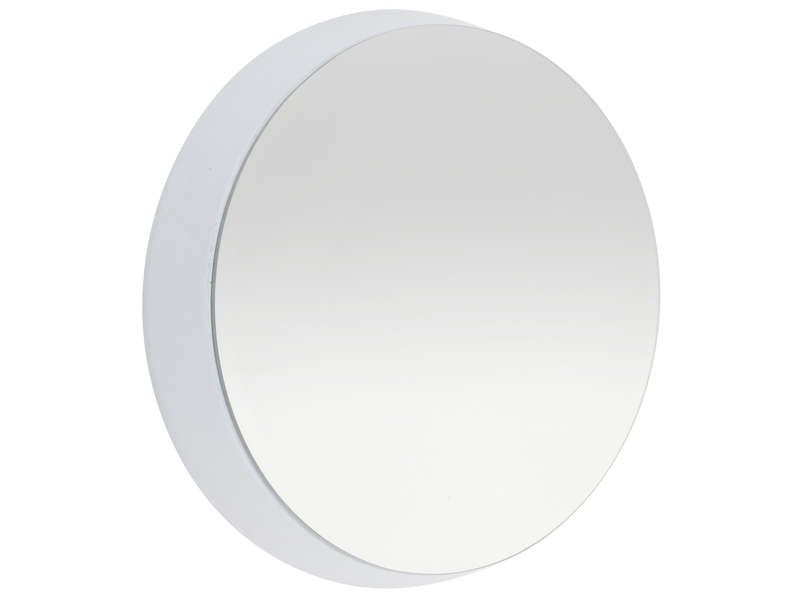Miroir rond coloris gris conforama pickture for Miroir conforama