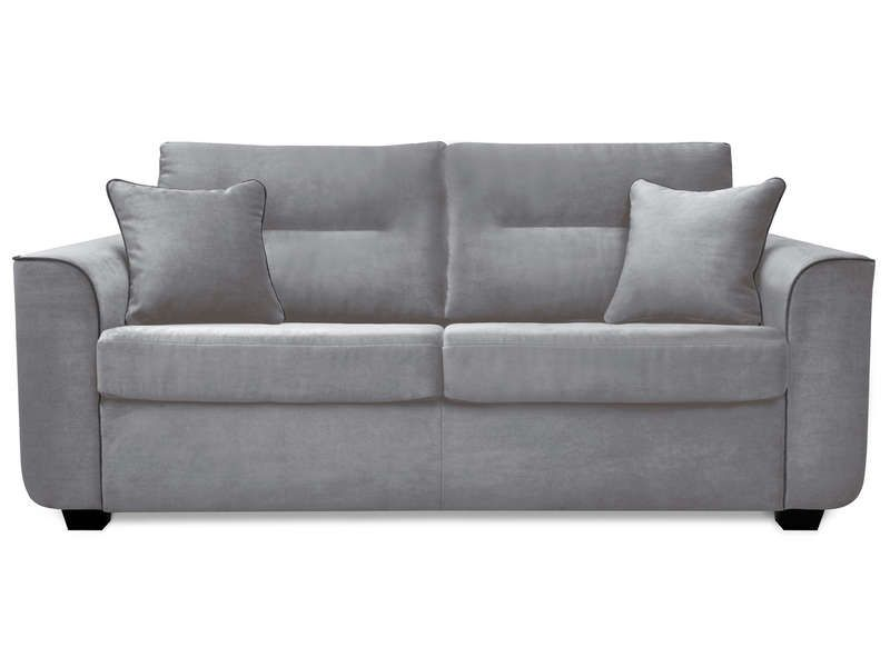 Canap convertible 3 places marina coloris gris conforama pickture - Canape 2 place convertible ...