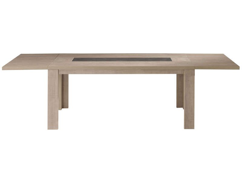 Allonge pour table manger brest nature conforama for Table manger conforama