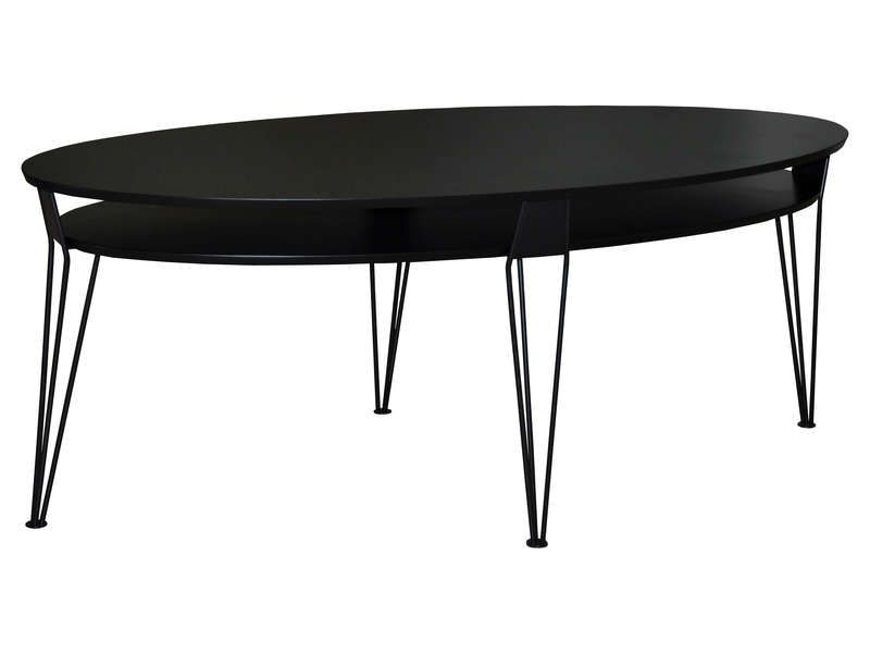 table basse emma coloris noir conforama pickture. Black Bedroom Furniture Sets. Home Design Ideas