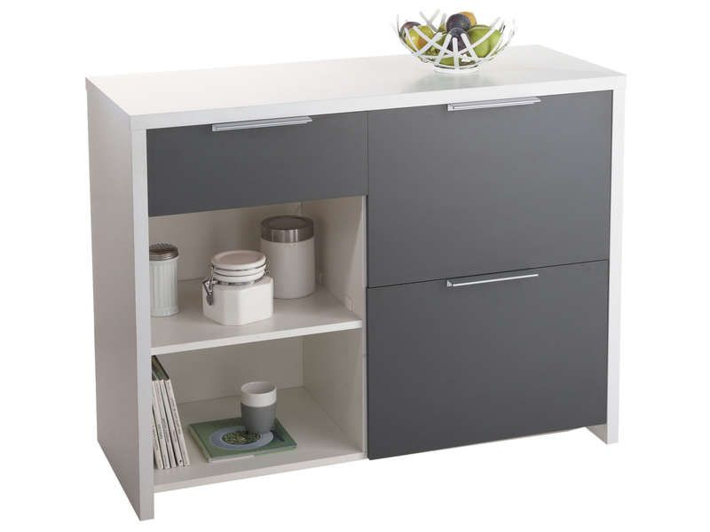 Buffet de cuisine smog conforama pickture for Meuble de cuisine a conforama