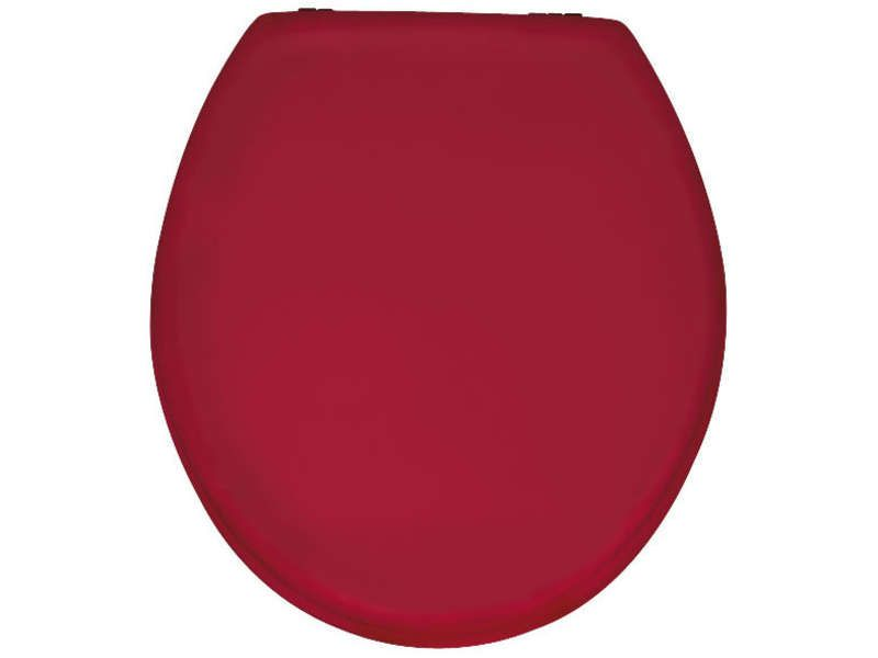 abattant wc prima coloris rouge  pickture