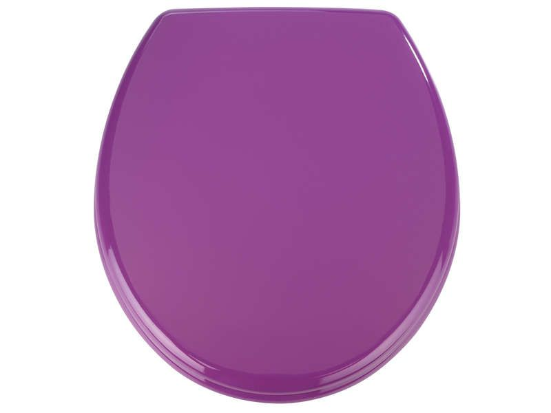 abattant wc prima coloris violet  pickture