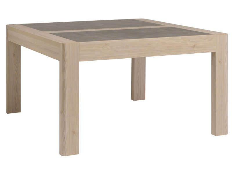 Table de s jour carr e chris conforama pickture for Table exterieure carree 8 personnes