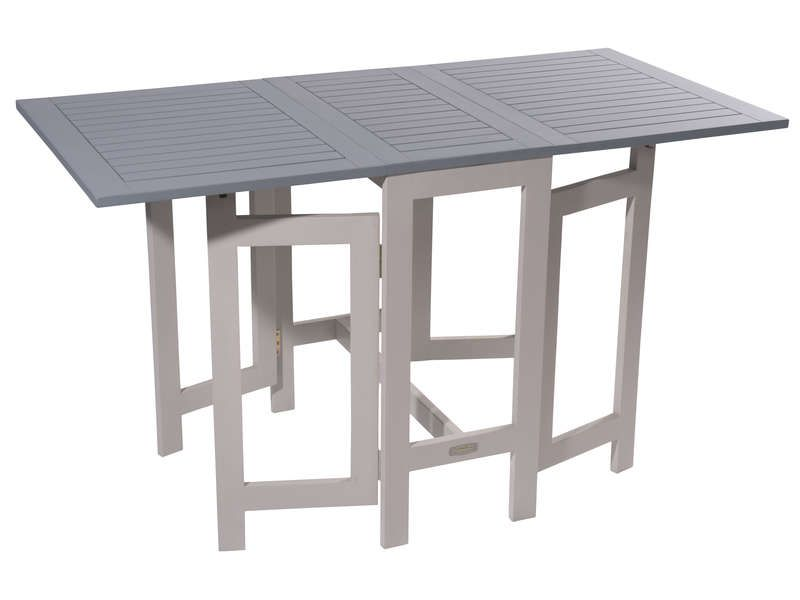 Table de jardin 130 cm pliante trinidad coloris conforama pickture - Table pliante murale conforama ...