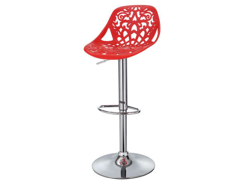 tabouret de bar lavender coloris rouge conforama pickture. Black Bedroom Furniture Sets. Home Design Ideas