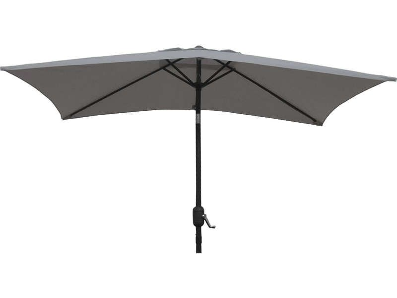 parasol sans pied 130 cm cuba coloris gris conforama pickture. Black Bedroom Furniture Sets. Home Design Ideas