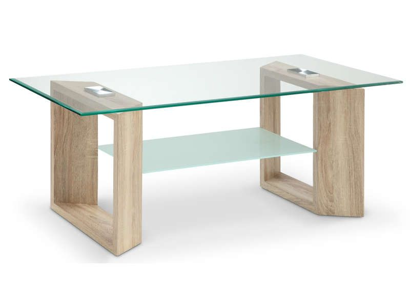 Table basse samara coloris ch ne conforama pickture for Table basse pas cher conforama