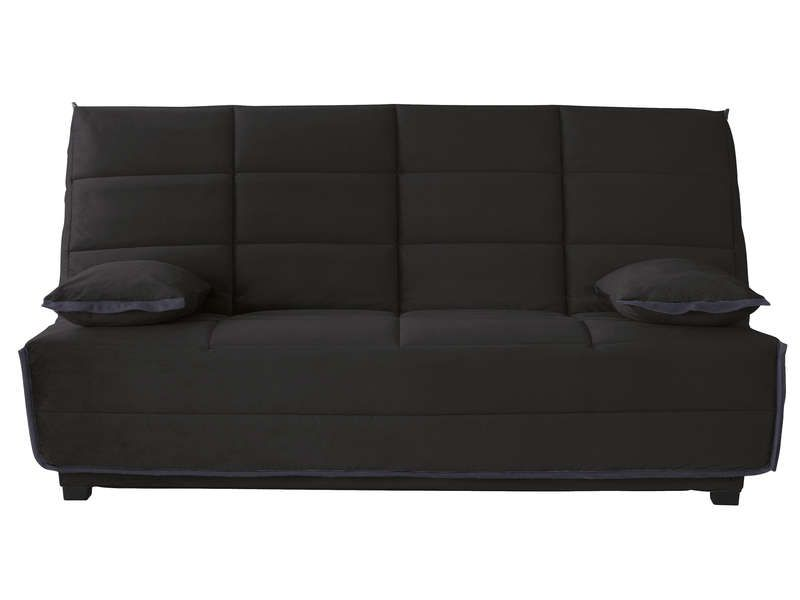 banquette lit clic clac avec matelas dunlopillo. Black Bedroom Furniture Sets. Home Design Ideas
