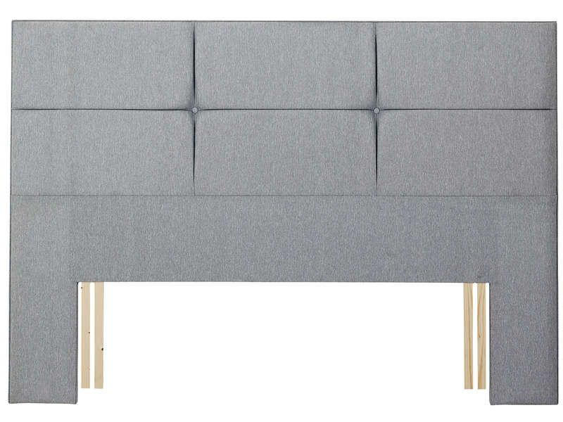 t te de lit 215 cm relyon contemporaine gris relyon. Black Bedroom Furniture Sets. Home Design Ideas
