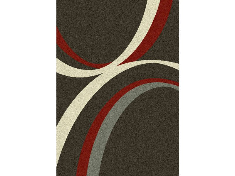 Tapis 160x230 Cm Wave Coloris Fond Noir Courbes Conforama Pickture