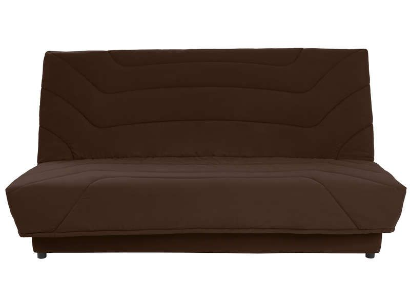 couette clic clac 140cm julia coloris chocolat conforama pickture. Black Bedroom Furniture Sets. Home Design Ideas