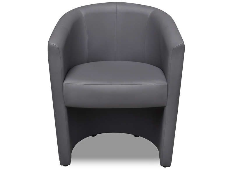 fauteuil cabriolet mino coloris gris conforama pickture. Black Bedroom Furniture Sets. Home Design Ideas