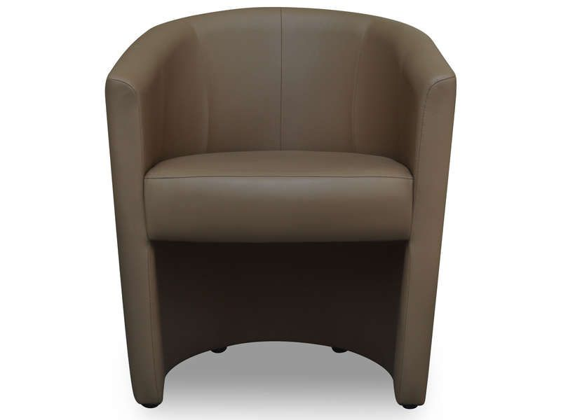 fauteuil cabriolet mino coloris taupe fonc conforama pickture. Black Bedroom Furniture Sets. Home Design Ideas