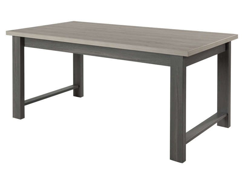 Table de s jour toscane coloris gris conforama pickture for Table sejour