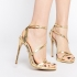 Carvela Gold high heel sandals - Pickture