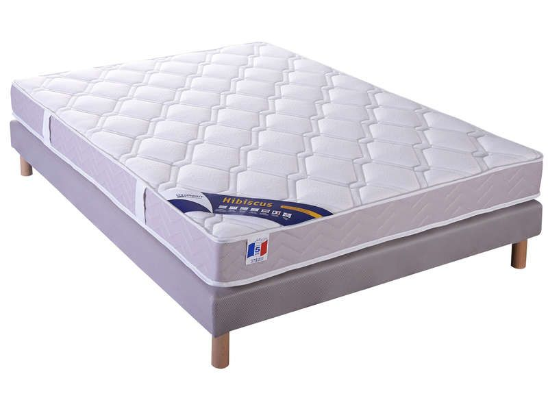 matelas sommier 140x190 cm volupnight by conforama pickture. Black Bedroom Furniture Sets. Home Design Ideas
