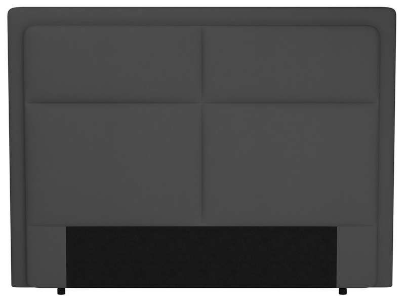 t te de lit 200 cm electra coloris gris conforama pickture. Black Bedroom Furniture Sets. Home Design Ideas