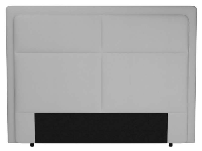 t te de lit 200 cm electra coloris blanc conforama. Black Bedroom Furniture Sets. Home Design Ideas