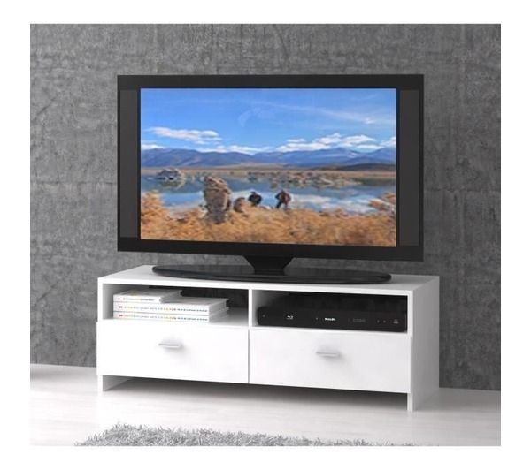 finlandek meuble tv helppo 95cm blanc noname pickture. Black Bedroom Furniture Sets. Home Design Ideas