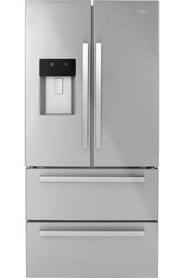 refrigerateur congelateur en bas beko gne60530dx beko pickture. Black Bedroom Furniture Sets. Home Design Ideas
