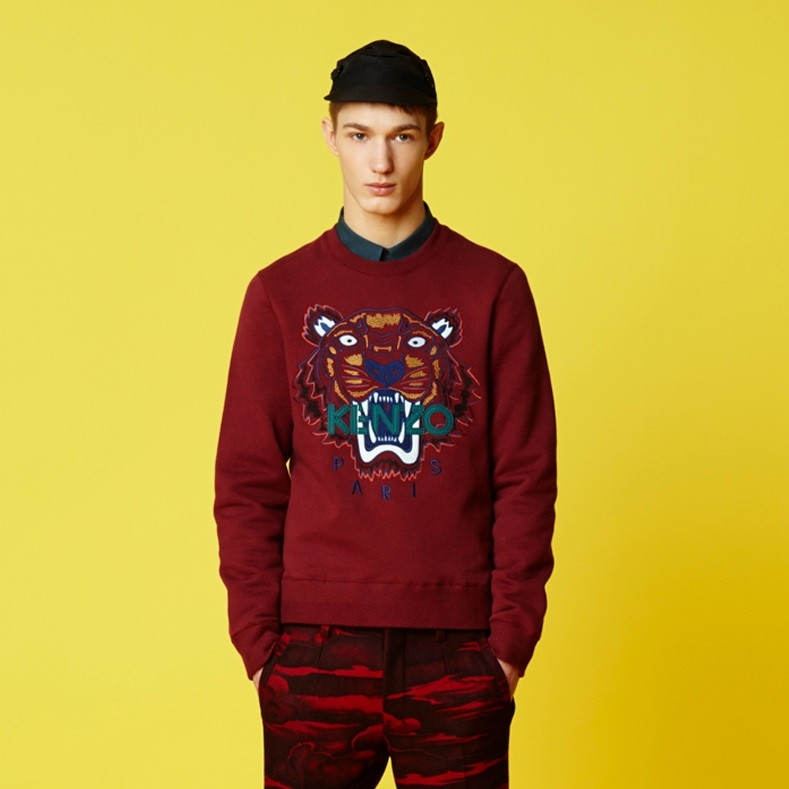4a23be84ab0 sweat kenzo homme rouge