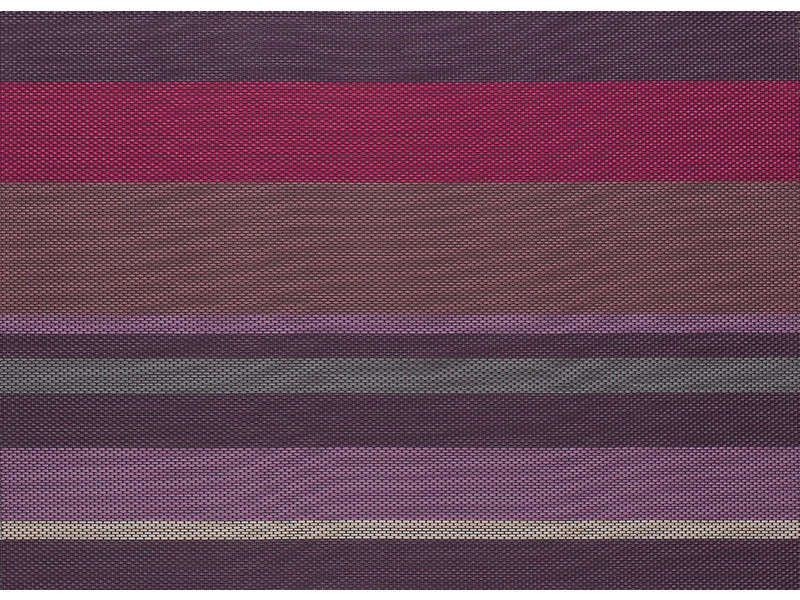Set de table 33x45 cm baya coloris violet conforama for Set de table violet