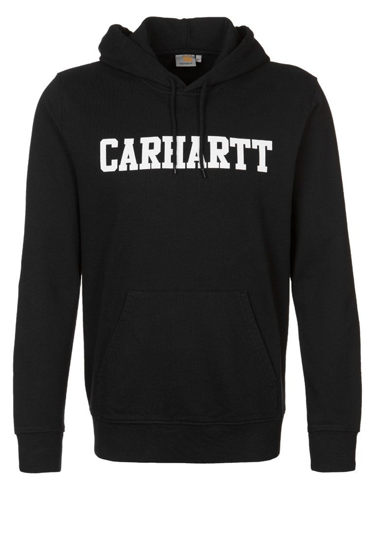 carhartt college sweat capuche black white carhartt pickture. Black Bedroom Furniture Sets. Home Design Ideas