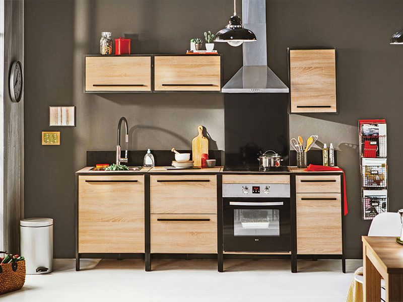 cuisine fabrik conforama pickture. Black Bedroom Furniture Sets. Home Design Ideas