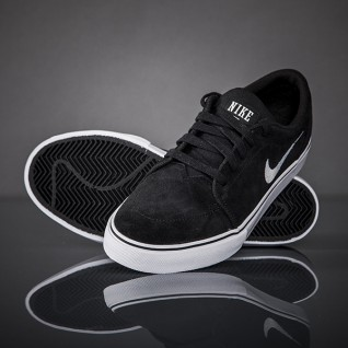 new concept 3fe25 cb70c ... Nike SB Satire 2 Baskets 729809-003 Noir ...