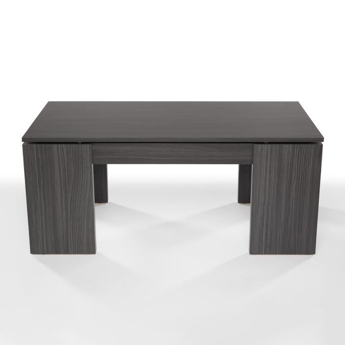 Table basse grise kendra for Kendra table basse