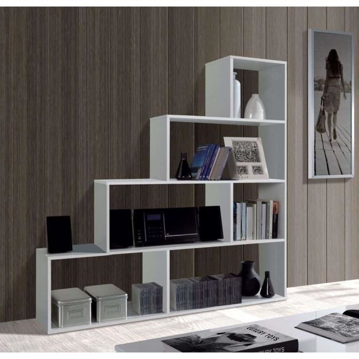 klum etagere escalier blanc brillant 145x145cm aucune pickture. Black Bedroom Furniture Sets. Home Design Ideas