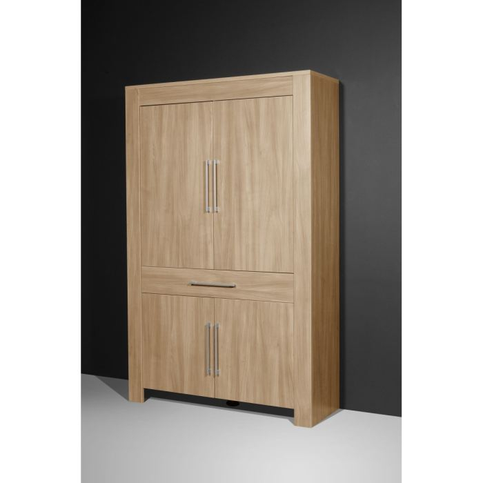 monte carlo armoire marron 120 cm aucune pickture. Black Bedroom Furniture Sets. Home Design Ideas