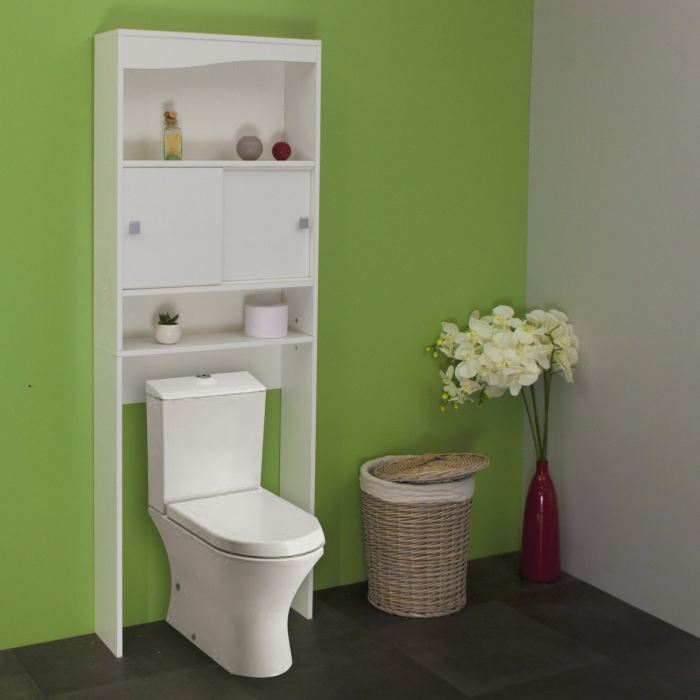 meuble wc machine a laver blanc aucune pickture. Black Bedroom Furniture Sets. Home Design Ideas