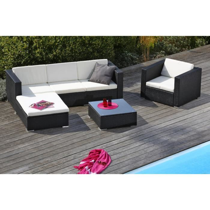 goa salon de jardin en r sine tress e aucune pickture. Black Bedroom Furniture Sets. Home Design Ideas