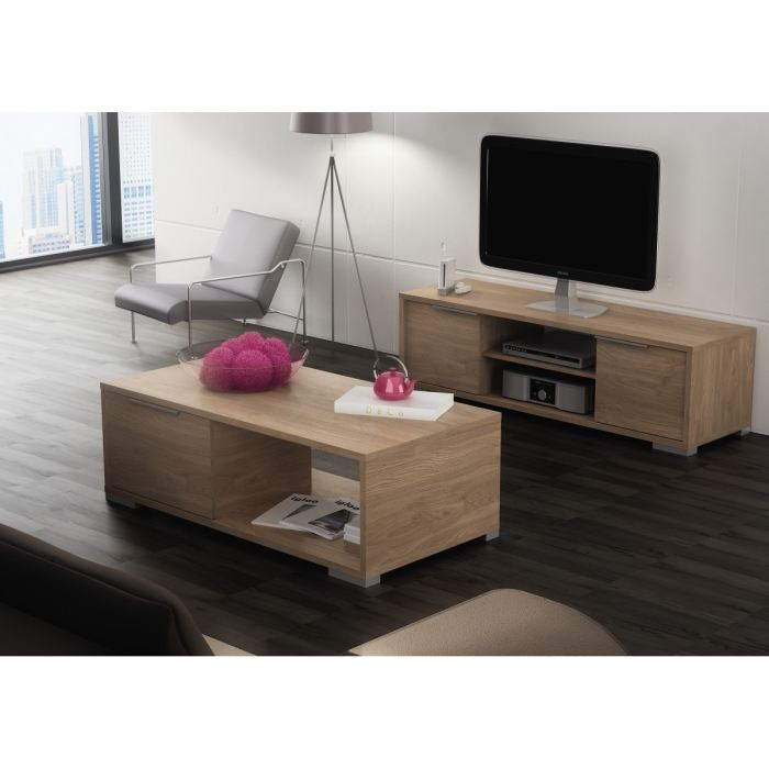 Zwin ensemble meuble tv table basse aucune pickture for Ensemble meuble tv et table de salon