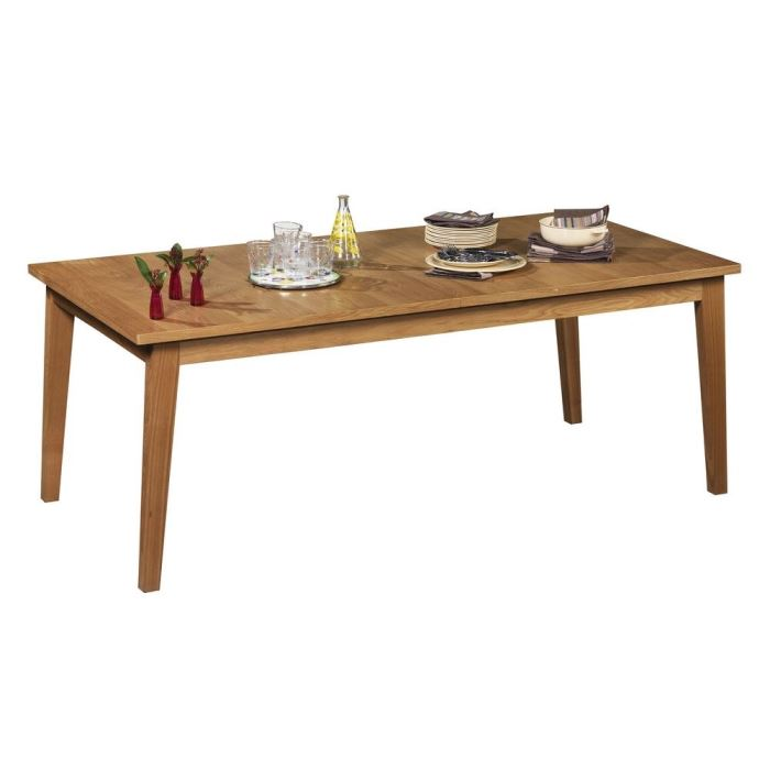 Spring table a manger en frene massif aucune pickture for Table a manger massif