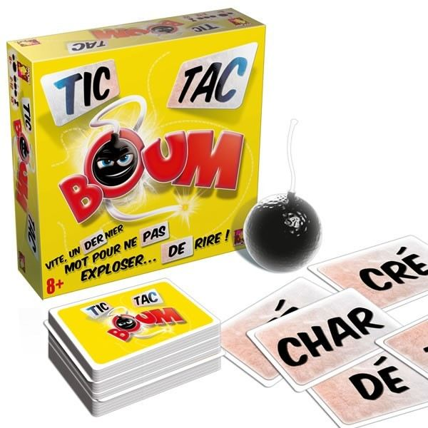 asmodee tic tac boum jeu d 39 ambiance asmodee pickture. Black Bedroom Furniture Sets. Home Design Ideas