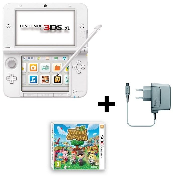 console 3ds xl animal crossing new leaf 3ds nintendo pickture. Black Bedroom Furniture Sets. Home Design Ideas