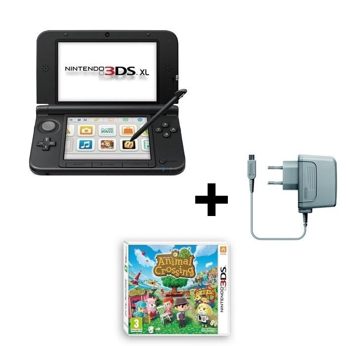 Console 3ds xl animal crossing new leaf 3ds nintendo pickture - Console nintendo 3ds xl pas cher ...