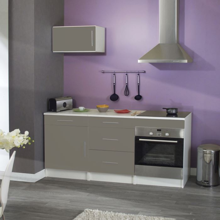 cuisine complete trendy taupe aucune pickture