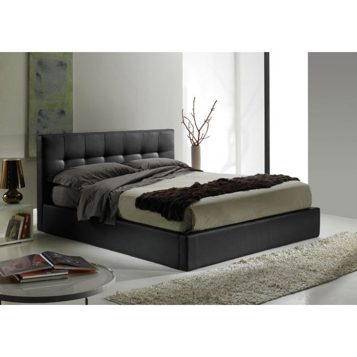 levy ensemble lit 160x200cm matelas dorsopocket aucune. Black Bedroom Furniture Sets. Home Design Ideas