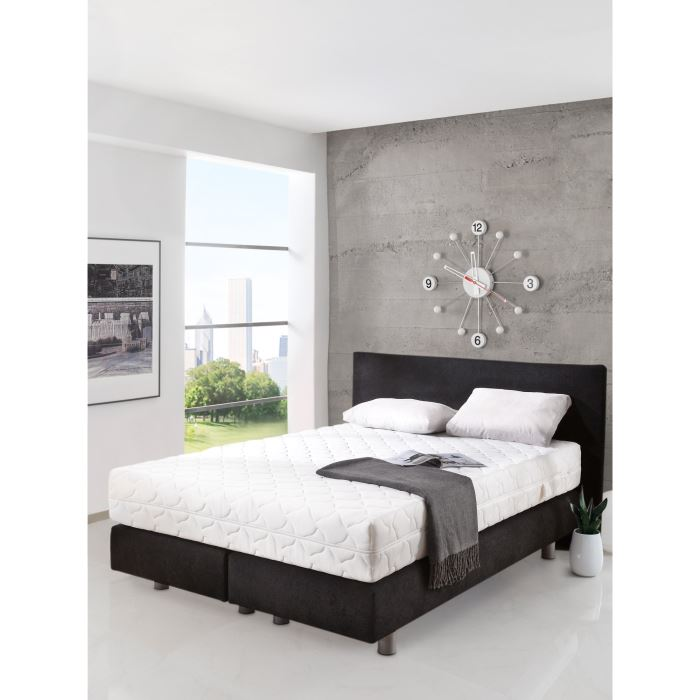 sleepwell lit complet quilibr 160x200 ressorts aucune pickture. Black Bedroom Furniture Sets. Home Design Ideas