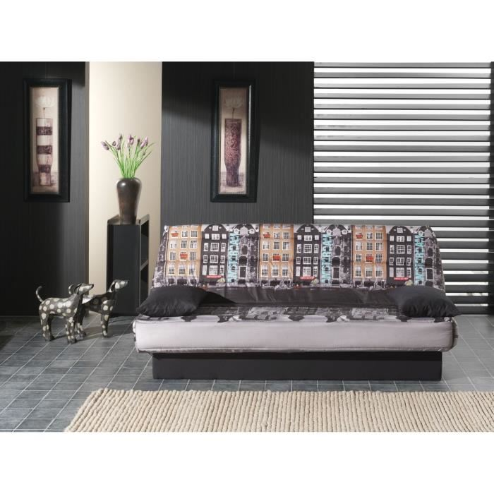 coco clic clac tissu polyester imprime amsterdam aucune pickture. Black Bedroom Furniture Sets. Home Design Ideas