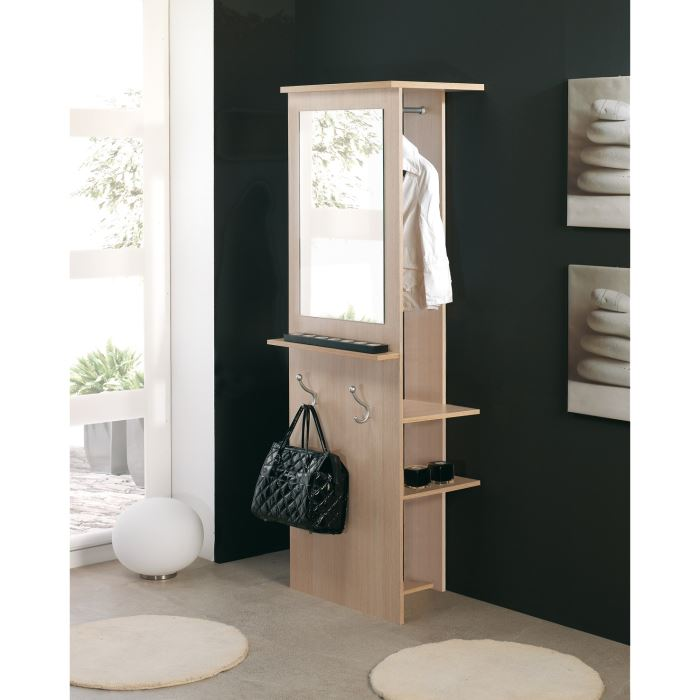 entry vestiaire d 39 entr e avec miroir col hetre aucune pickture. Black Bedroom Furniture Sets. Home Design Ideas