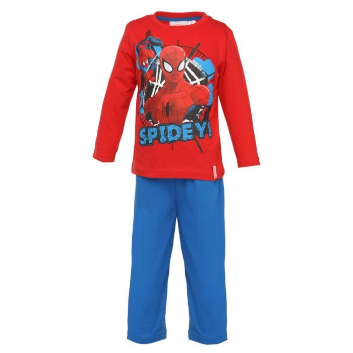 spiderman pyjama enfant gar on aucune pickture. Black Bedroom Furniture Sets. Home Design Ideas