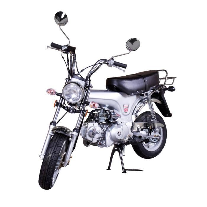mini moto 125 cc silver dax replica aucune pickture. Black Bedroom Furniture Sets. Home Design Ideas